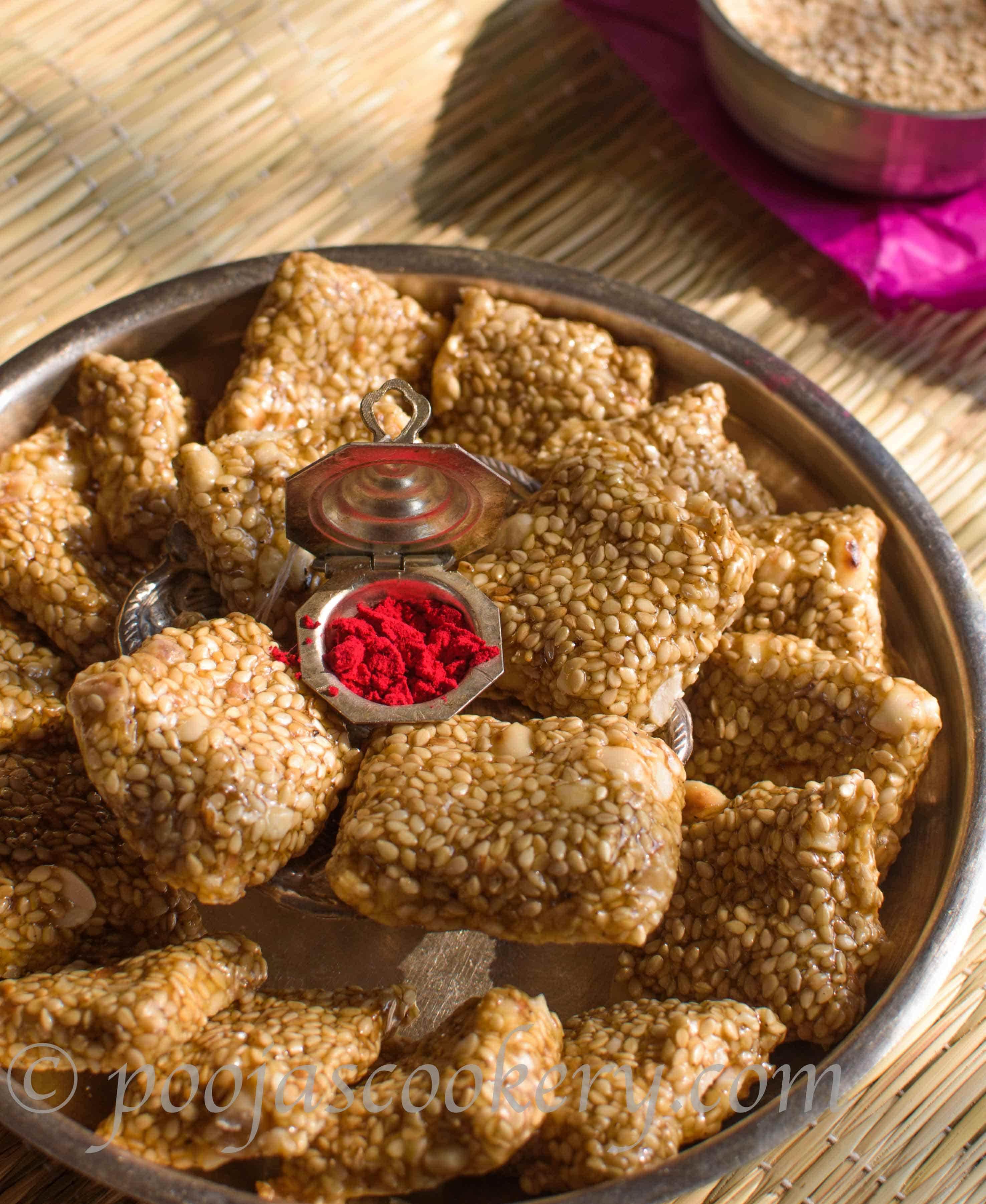 Tilgul Shengdana Vadi / Sesame Seeds Sweet.
