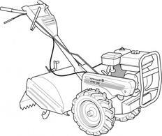 Tractor Free Vectors.