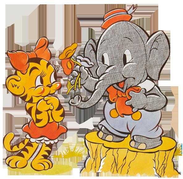 Elmer elephant clipart transparent.