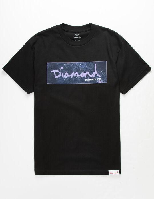 DIAMOND SUPPLY CO. Cosmos Box Logo Mens T.
