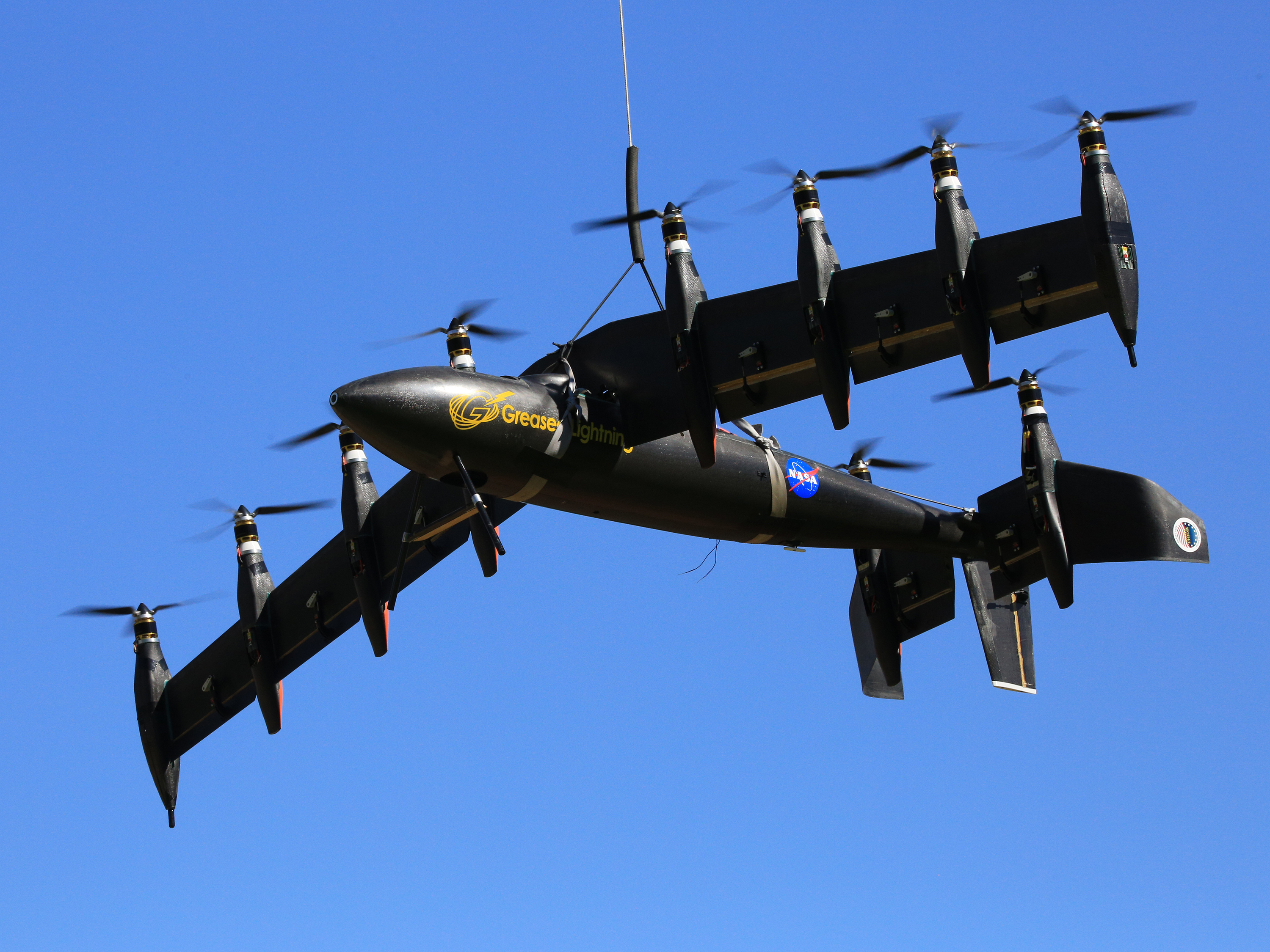 Experimental Wing Tests Electric Propulsion Technologies.