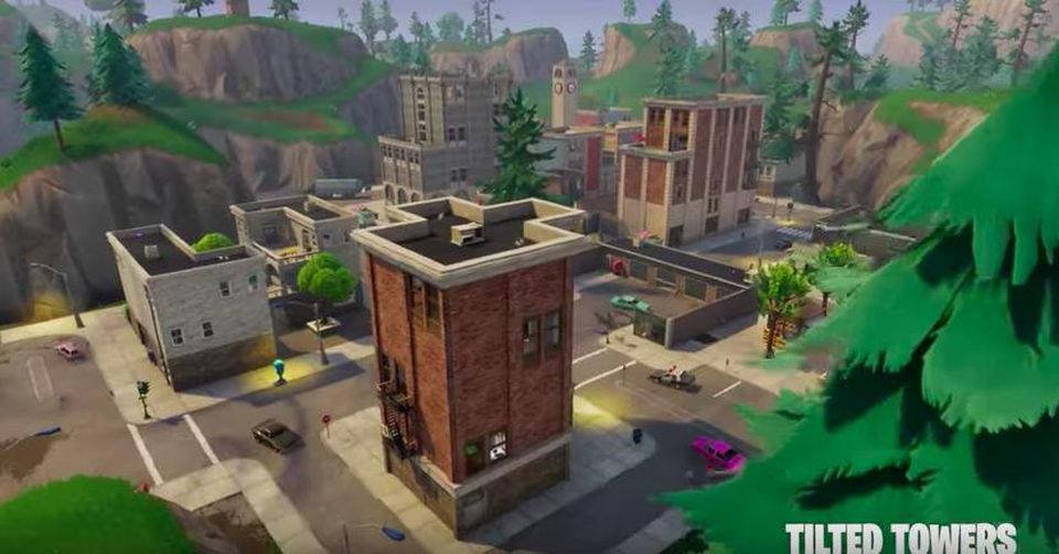 Watch Tilted Towers Get Destroyed In \'Fortnite: Battle Royale\'.