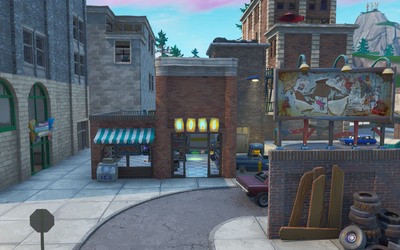Tilted Towers.