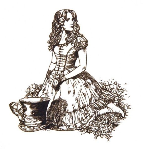 Alice In Wonderland Art.