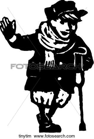 Clipart of Tiny Tim tinytim.