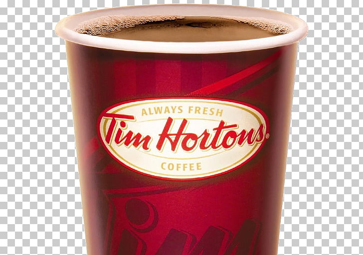 Coffee Cafe Tim Hortons Tea Restaurant, Coffee PNG clipart.