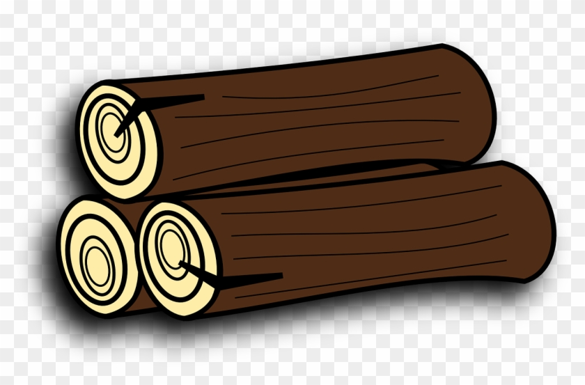 Firewood Tree Trunk Logs Timber Png Image.
