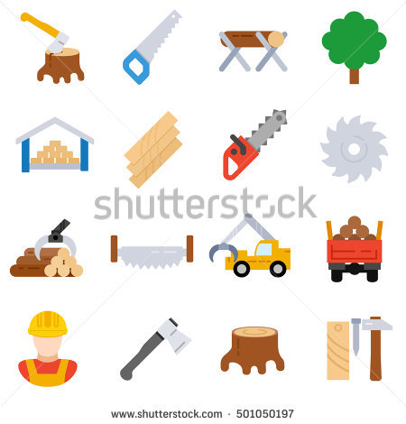Sawmill Stock Images, Royalty.