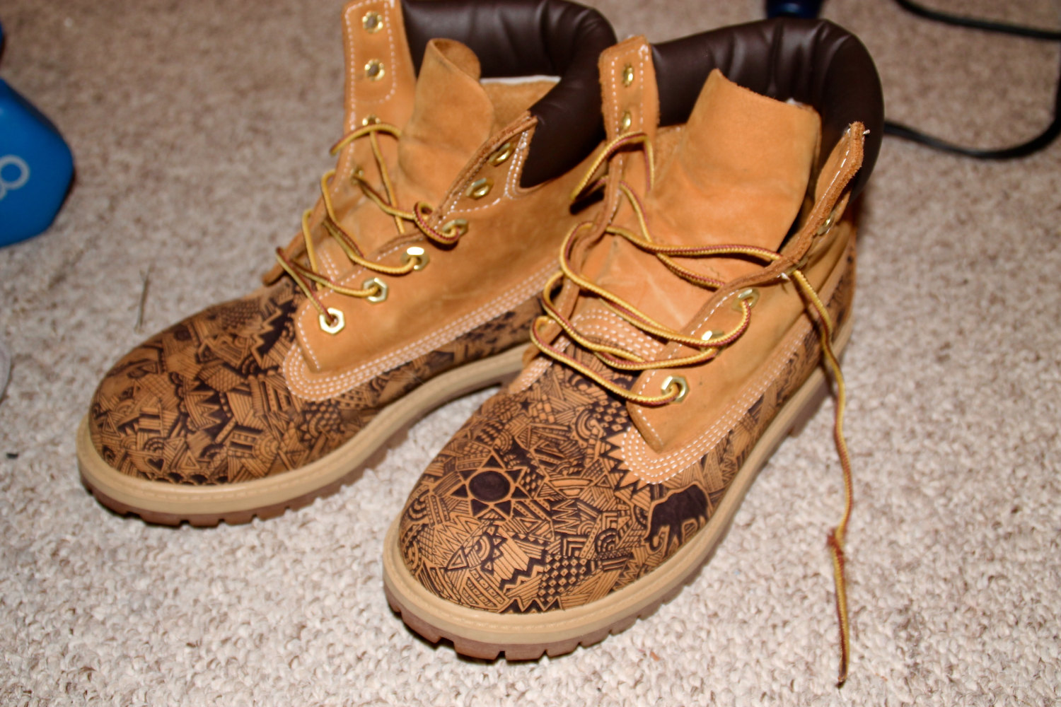 cool ways to tie timberland boots.