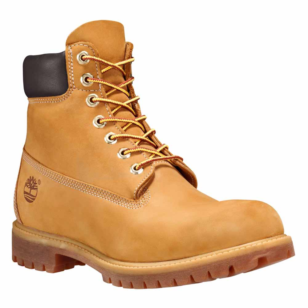Timberland 6 In Premium Boot Wide Boots and booties Wheat Nubuck.