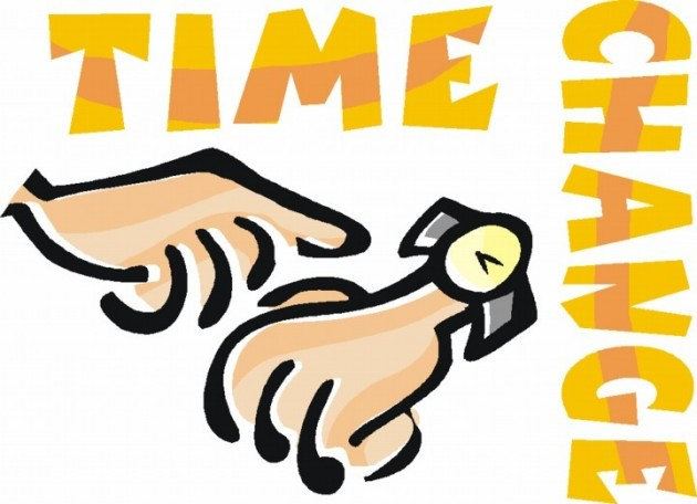 Time Change Clip Art.