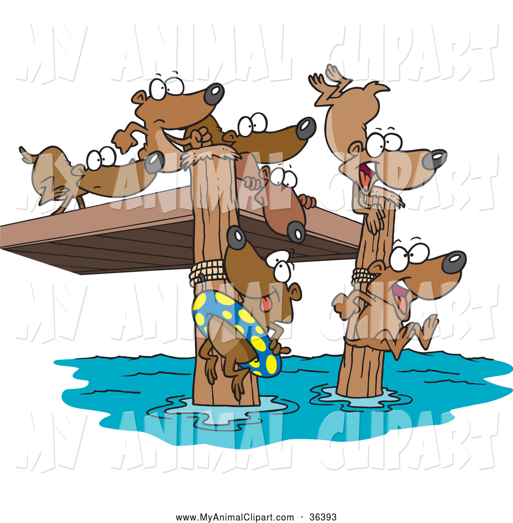 Royalty Free Summer Time Stock Animal Designs.