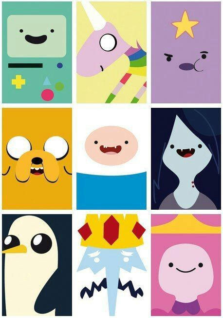 Adventure time! Call me a little kid but it\'s seriously in.