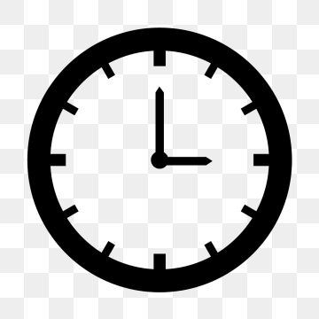 Time Icon PNG Images.