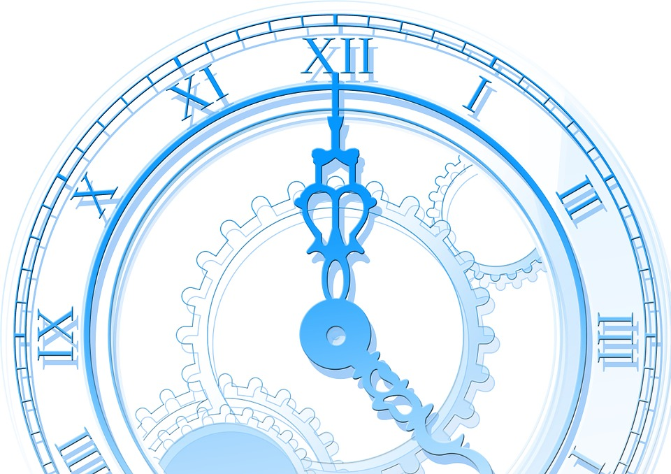 Free illustration: Time, Clock, Abstract.