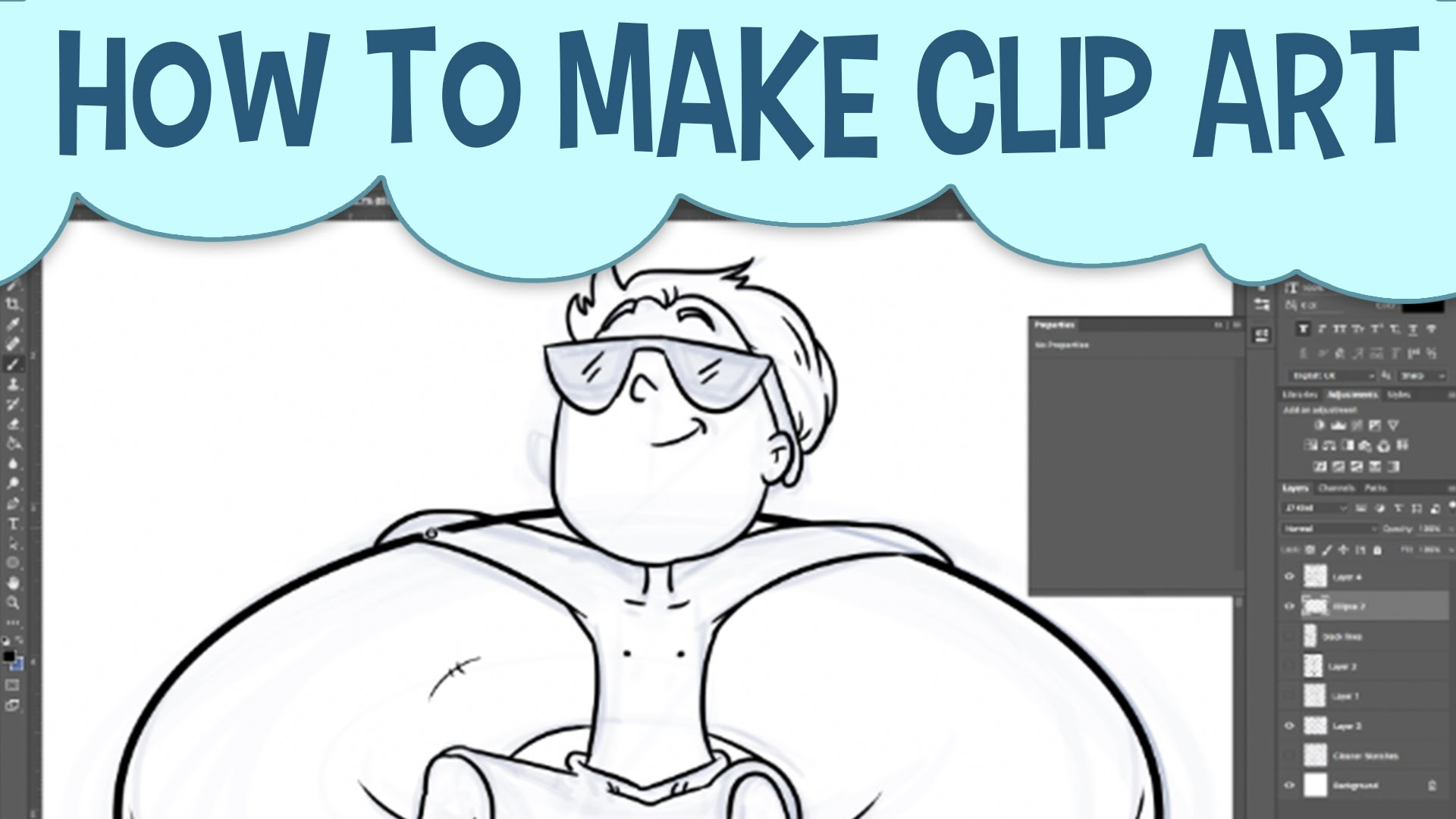 Photoshop Clip Art Tutorial.