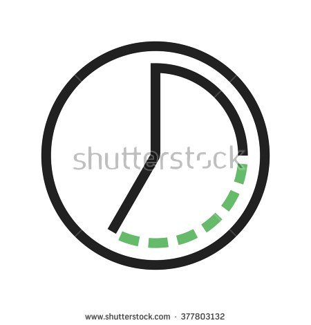 Timelapse Stock Vector Illustration 377803132 : Shutterstock.