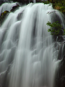 Waterfall Photo Clipart Image.