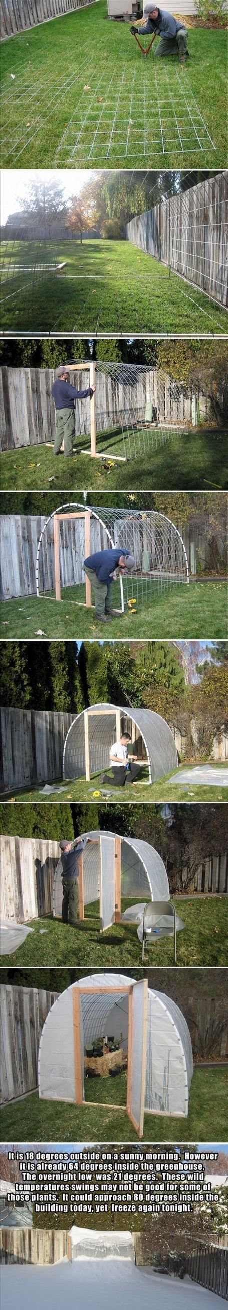 Make Your Own Greenhouse.