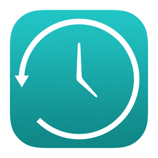 Time Machine Icon iOS 7 PNG Image.