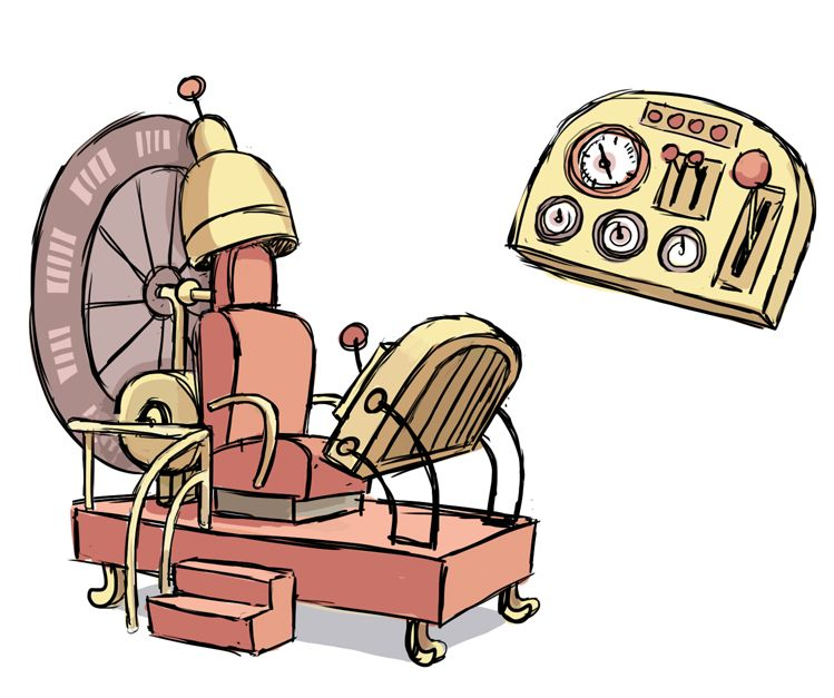 Time machine time travel clipart Transparent pictures on F.