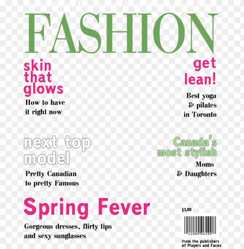 blank magazine cover template clipart magazine vogue.