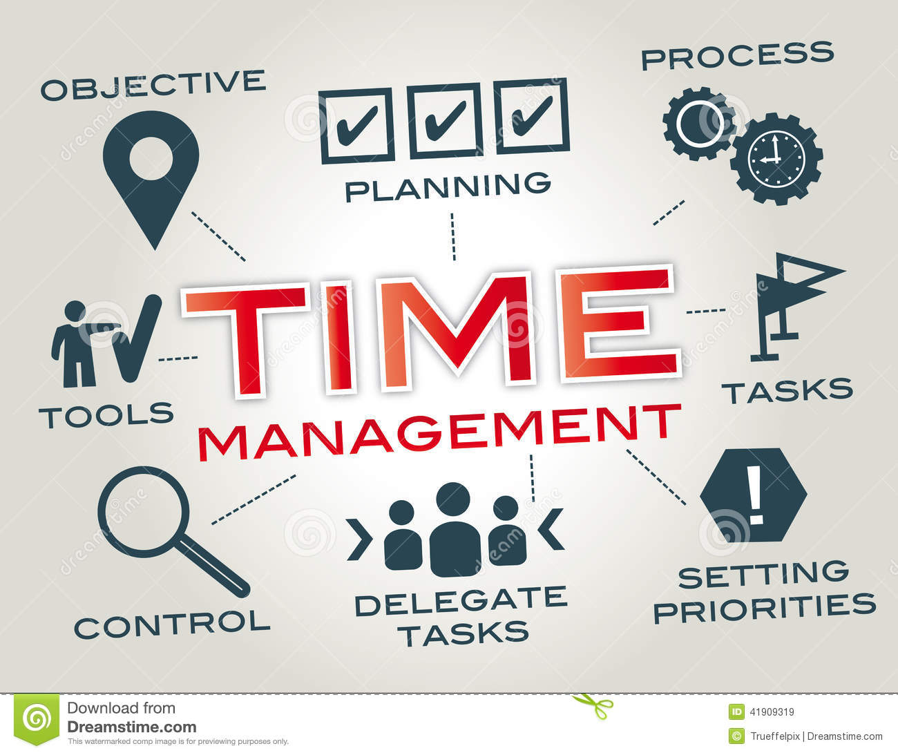 Time Management: Time Management Clipart