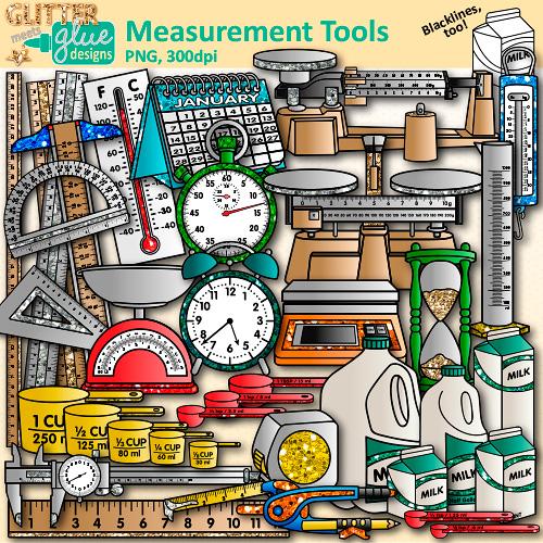 Measurement Tools Clip Art.