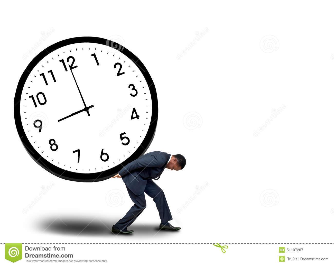 Time Pressure Concept Stock Photo.