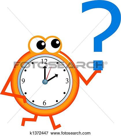 Stock Illustration of question time k1372447.