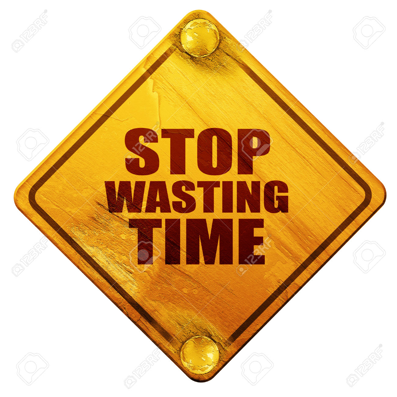 Wasting time clipart.