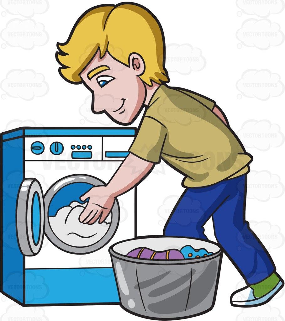 Laundry Clipart.