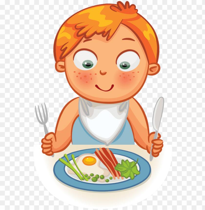 clip art kid dinner time eating time clock time pinterest.