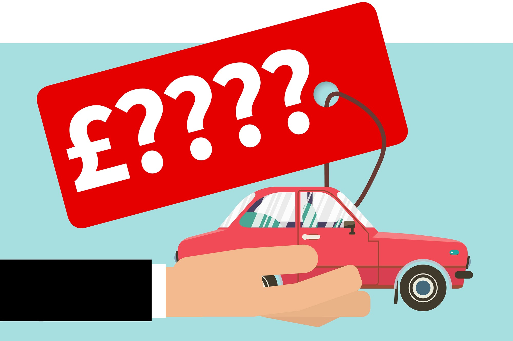 How to solve the used car pricing problem.