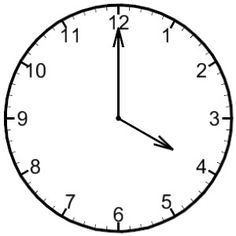 Time To The Hour Clipart.