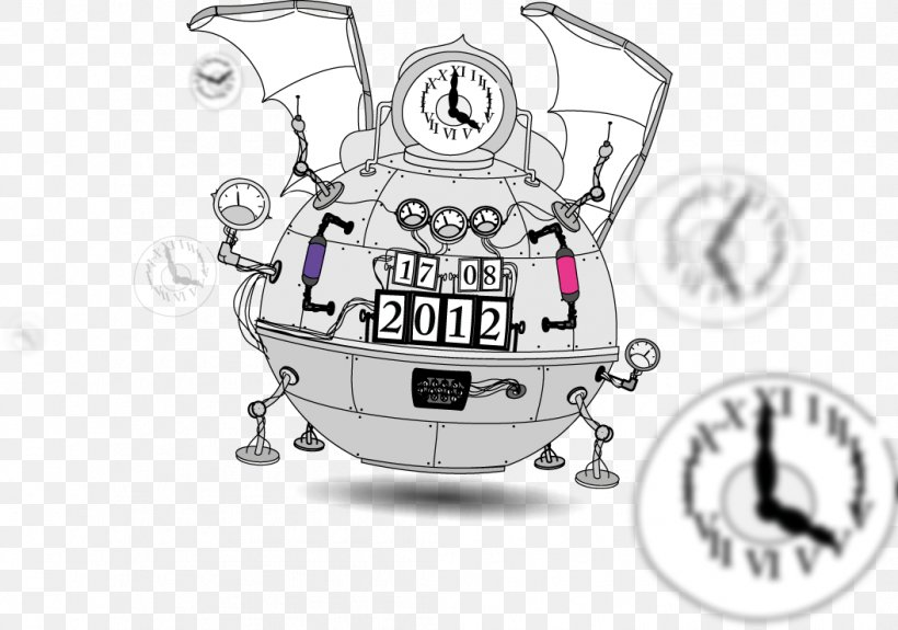 Remote Backup Service Time Machine Time Travel Clip Art, PNG.
