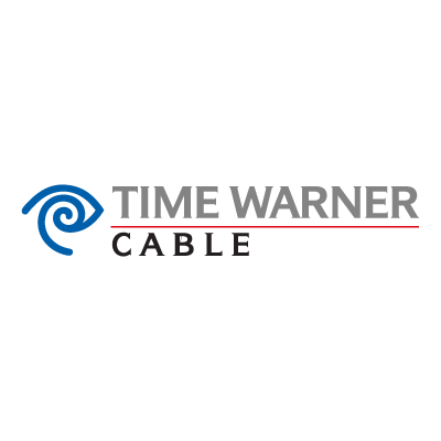 Time Warner cable vector logo.