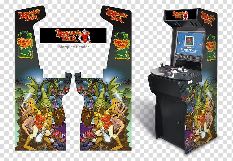 Arcade game Dragon\'s Lair II: Time Warp Arcade cabinet.