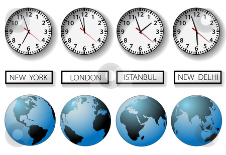 World Clock Clipart Clipground