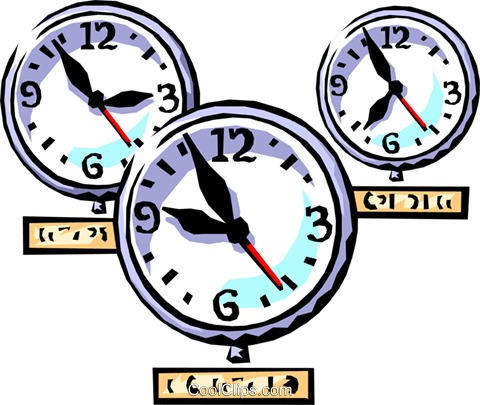 Time Zone Clip Art.