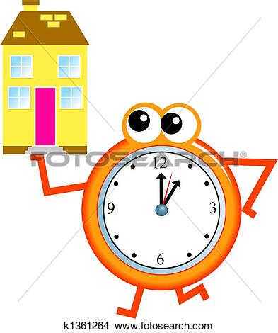 Stock Illustrations of time keeper k0113940.