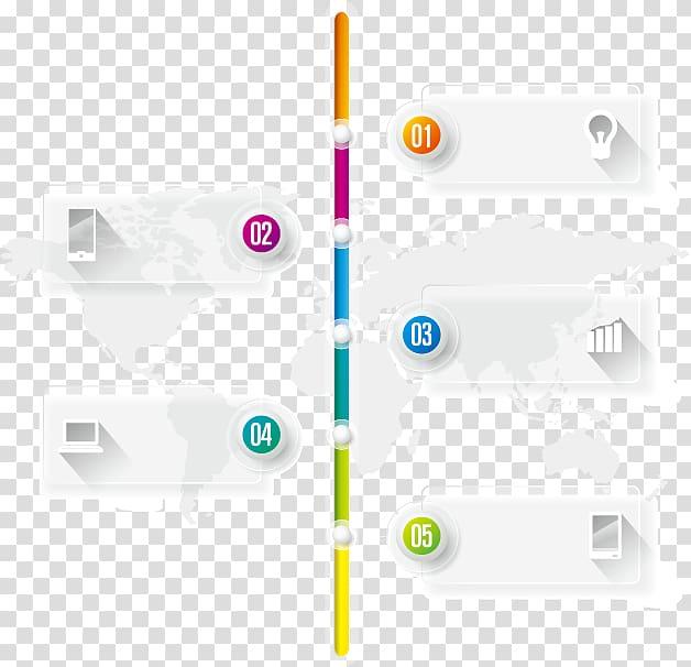 Google Timeline Search engine , PPT element transparent.