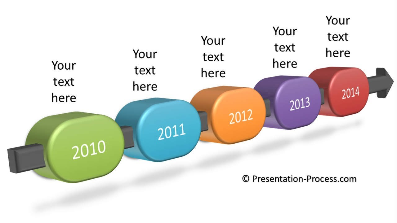 Timeline clipart for powerpoint.