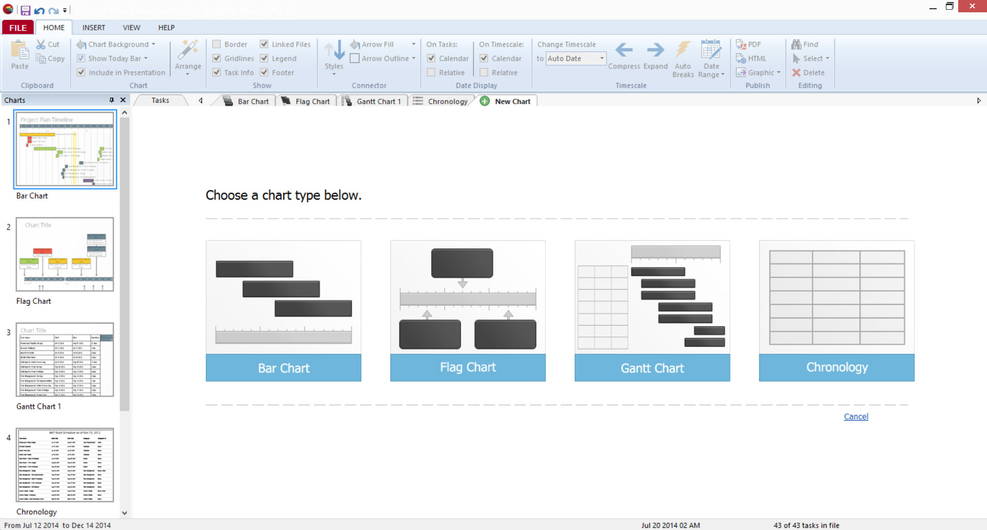 An overview of the key features of Timeline Maker Pro.