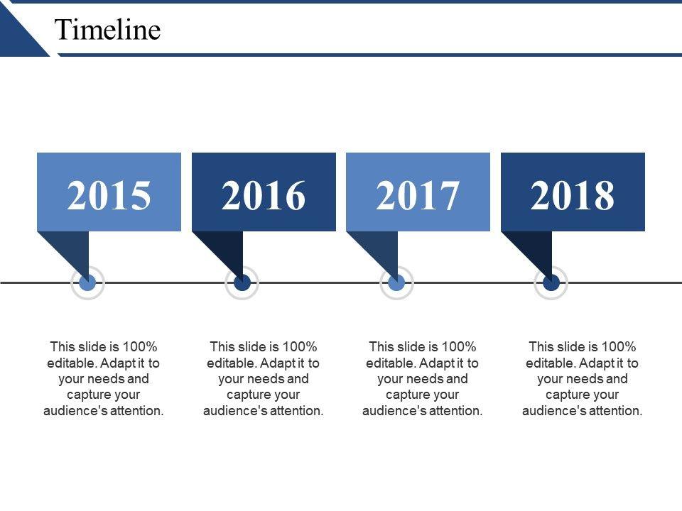 Timeline Powerpoint Slide Clipart.