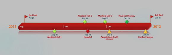 How to Quickly Make a Graphical Litigation Timeline in.