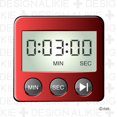 Awesome Timer Clip Art. Kitchen Timer Clipart
