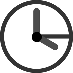 Digital Animated Timer Clipart.