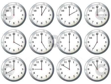 Clock times clipart.
