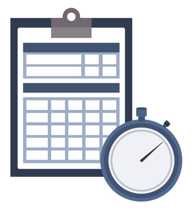 timesheets clipart